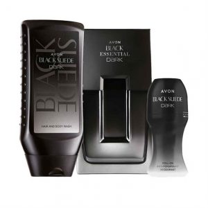 Black Suede Dark for him Aftershave Set - TOPSCosmetics.uk