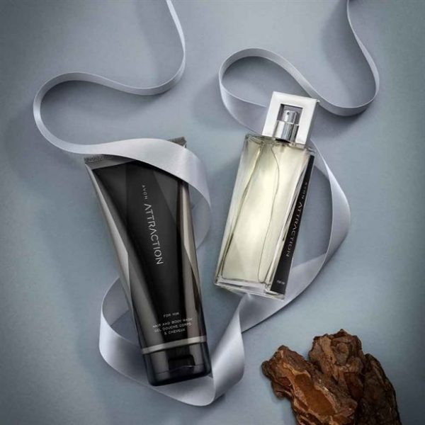 Attraction for Him Aftershave Gift Set - TOPSCosmetics.uk