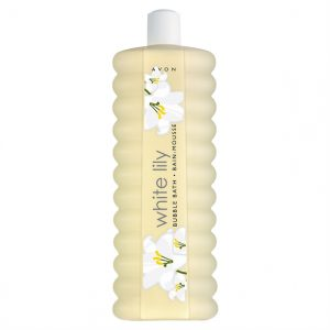 White Lily Bubble Bath - 1 litre - TOPSCosmetics.uk