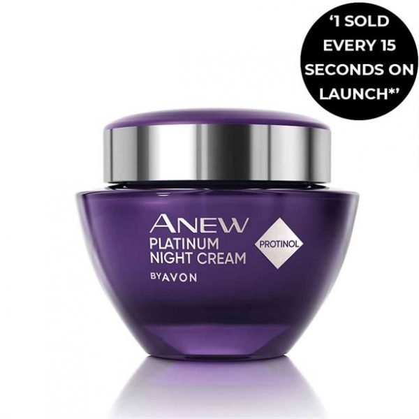 Anew Platinum Night Replenishing Cream - TOPSCosmetics.uk