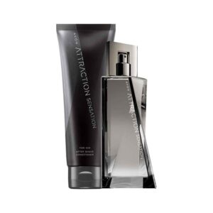 Attraction Sensation For Him Aftershave Set - TOPS Cosmetics